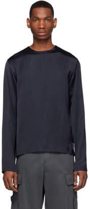 Kenzo Navy Satin Shirt