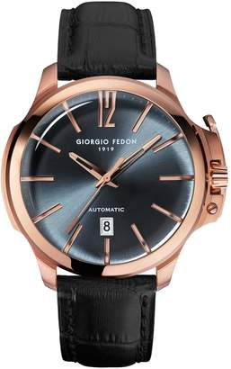 Giorgio Fedon Men's Timeless VI Ionic-Plated Stainless Steel Watch, 45mm