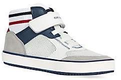 Geox Boy's J Alonisso Mid-Top Sneakers
