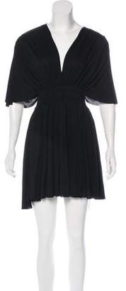 Givenchy Short Sleeve Mini Dress