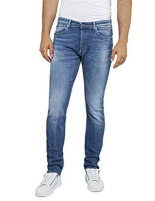 Replay Men's Donny Slim Jeans, (Medium Blue 9), W28/L32 (Size: 28)