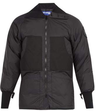 Junya Watanabe X Canada Goose Down Filled Jacket - Mens - Black