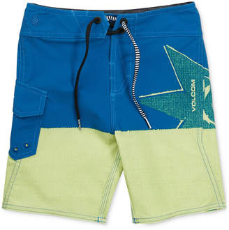Volcom Lido Block Swimsuit, Little Boys