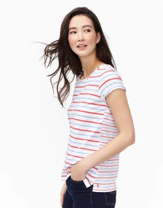 Joules Clothing Blue Red Stripe Nessa Jersey Thirt