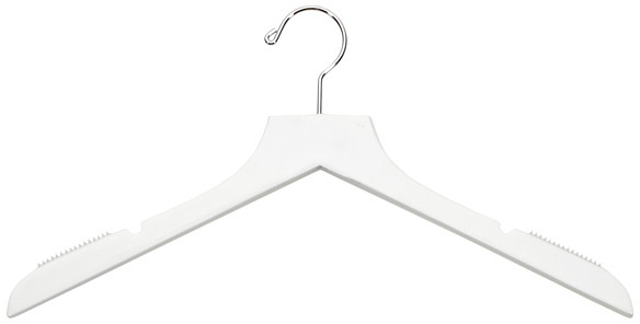 Container Store Basic Blouse Hanger White Pkg/6