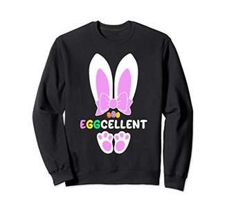 Hunter Eggcellent Egg Happy Easter Men Women Sweatshirt Gift