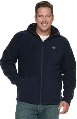 New Balance Men's Sherpa-Lined Hooded Polar Fleece Jacket