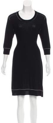 Sonia Rykiel Sonia by Wool Sweater Dress