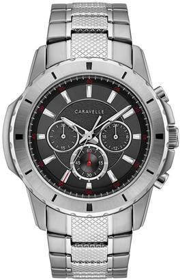 Caravelle Men's Stainless Steel Chronograph Watch - 43A147