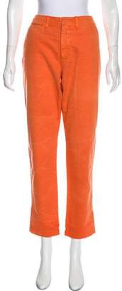 Polo Ralph Lauren Mid-Rise Straight-Leg Pants w/ Tags