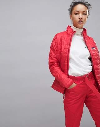 Patagonia Nano Puff Jacket In Red
