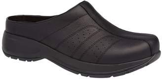 Dansko Open Back Clog Slip On Leather Shoes - Shelly