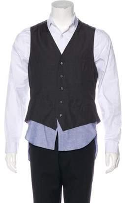 Miharayasuhiro Layered Longline Vest w/ Tags