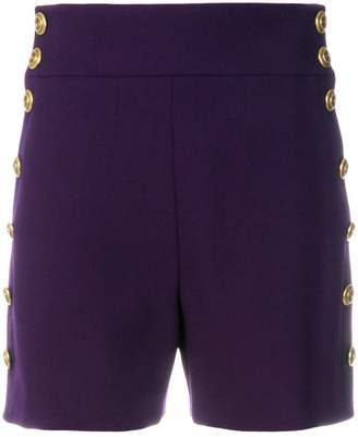 Chloé high-waisted buttoned shorts
