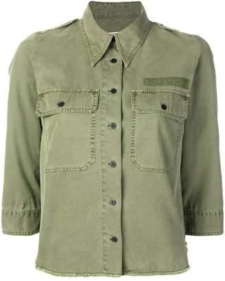 Zadig & Voltaire Zadig&Voltaire Toast military shirt