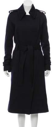 Celine Long Wool Coat