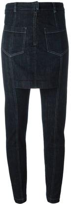 Maison Margiela Pre-Owned slim fit skirt jeans
