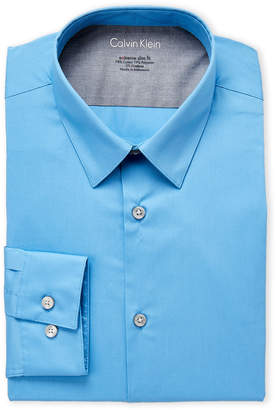 Calvin Klein Azure Extreme Slim Fit Dress Shirt