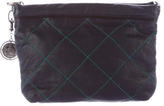 LanvinLanvin Quilted Leather Pouch