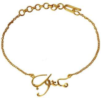 """Eina Ahluwalia Maktub Bracelet """"It's written"""" (Arabic)"""