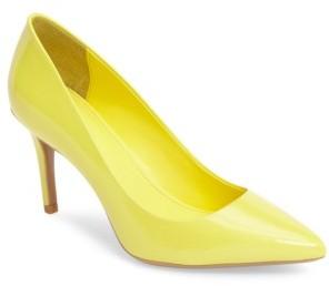Women's Calvin Klein 'Gayle' Pointy Toe Pump $98.95 thestylecure.com