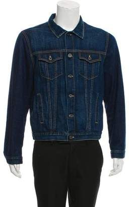Burberry Dark Wash Denim Jacket