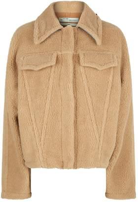 Off-White Off White Faux Fur Jacket