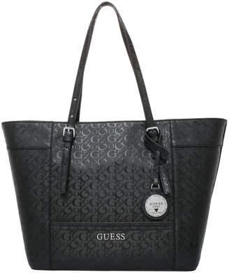 GUESS Paymer Zip Top Tote Bag FF707724BLA
