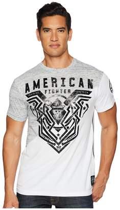 American Fighter Brimley Short Sleeve Panel Tee Men's T Shirt