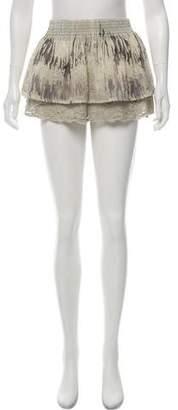 Alexis Patterned Mini Skirt