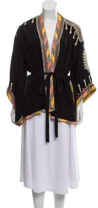 b5f52ed6775 Talitha Collection Silk Printed Kimono w/ Tags