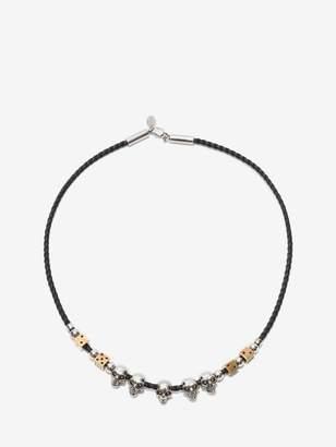 Alexander McQueen Skull And Dice Necklace