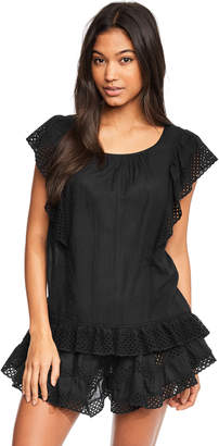Figleaves Heidi Broderie Shell Top