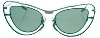 Opening Ceremony x Gentle Monster Leela Cat-Eye Sunglasses