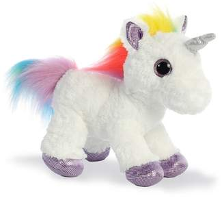 "Aurora World TOYS Rainbow Unicorn 12"" Stuffed Animal"