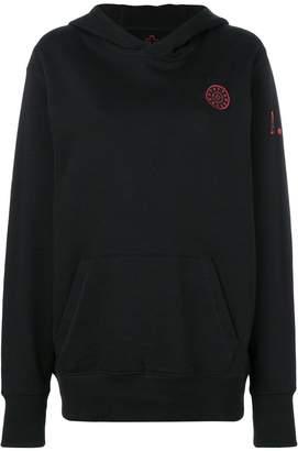 A.F.Vandevorst logo hooded sweatshirt