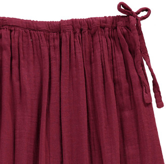 NUMERO 74 Ava Maxi Skirt - Teen and Women's Collection Raspberry red $78 thestylecure.com