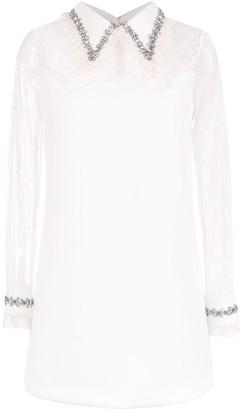 Andrea Bogosian long sleeved lace dress