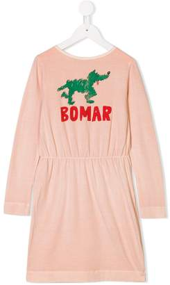 The Animals Observatory Bomar printed dress