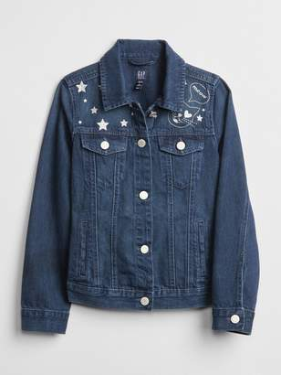 Gap Icon Star Denim Jacket