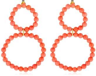 Saskia Diez Holiday Coral Earrings