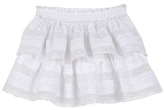 LoveShackFancy kids Ruffle Mini Skirt
