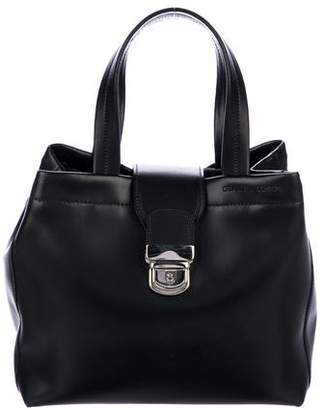 Creatures of Comfort Smooth Leather Satchel