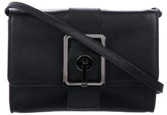 Rebecca Minkoff Buckle-Accented Leather Crossbody Bag