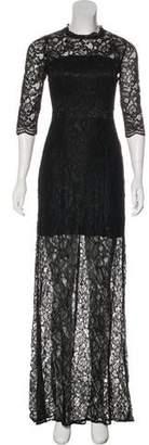 Alexis Three-Quarter Sleeve Maxi Dress w/ Tags