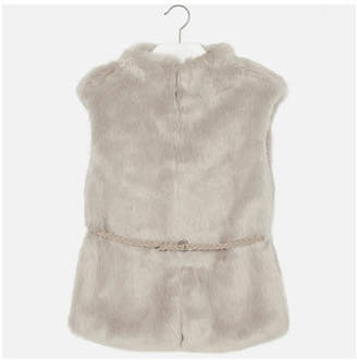 Mayoral Synthetic Fur Gilet