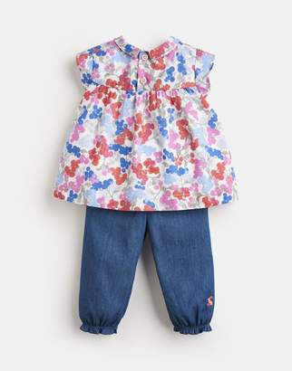 Joules Brenna Woven Top and Trouser Set