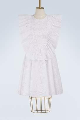 MSGM Short lace dress