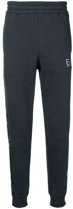 Emporio Armani Ea7 contrast stripe track pants