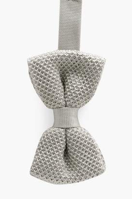 boohoo Knitted Bow Tie